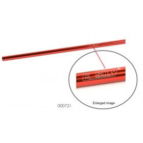 EK1-0447R / 000721 ESKY Tail Boom (Red), for EK1H-E026 Honey Bee King 2 / TWF