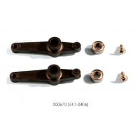 000670 ESKY Ball Control Arm Set, for Honey Bee King 2 / 3 / 4, Belt CPX, Belt CP CX, Belt CP V2 (A.k.a. EK1-0406)