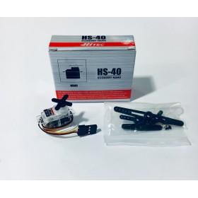 Hitec HS-40 economy Nano Servo Motor (Nylon Gear) / HS40 / 31040
