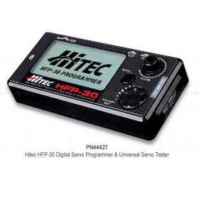 PN44427 Hitec HFP-30 Digital Servo Programmer and Universal Servo Tester / HFP30 field programmer 44427