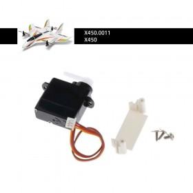 Aileron Servo Set for XK X450 X450.0011
