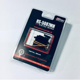 Hitec HS-5087MH HV Digital Mighty Micro Servo Motor (Metal Gear) (Programmable)
