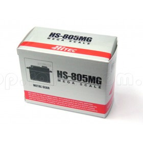 HS-805MG Analog Mega Metal Quarter Scale Servo Motor (Metal Gear)