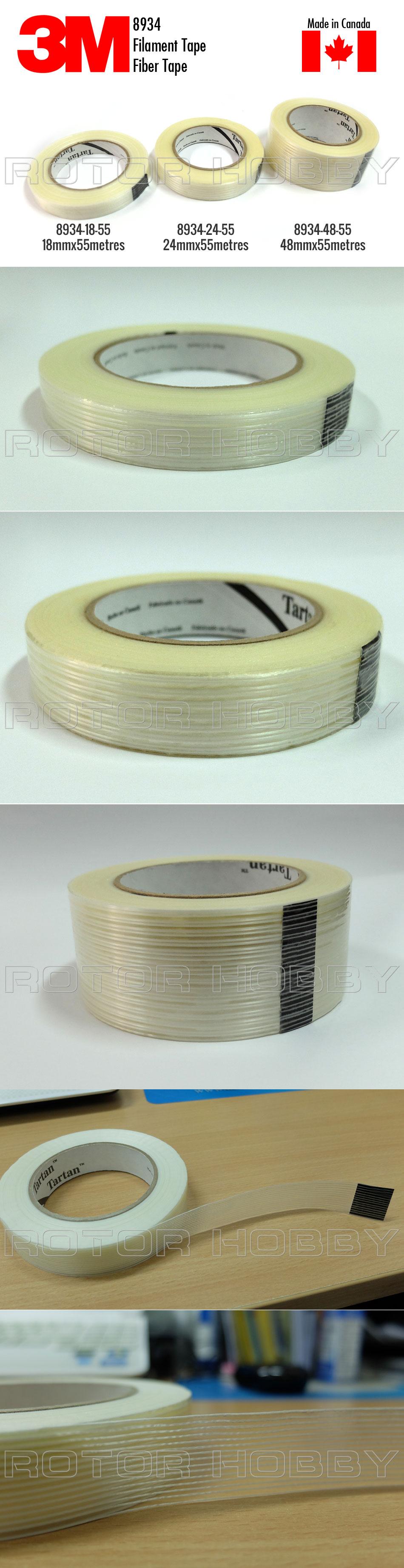 8934 3M Tartan Filament Tape