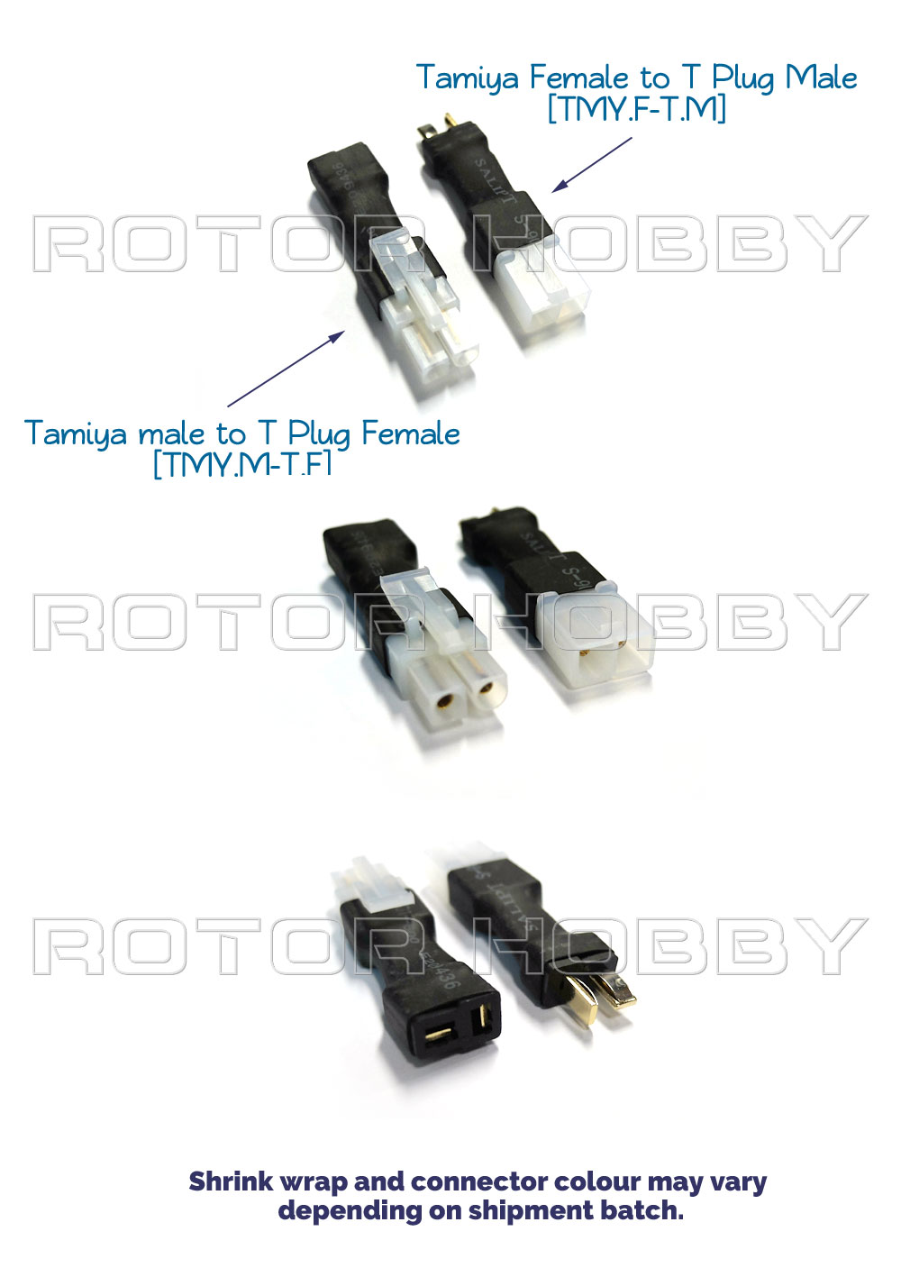 Tamiya Connector to T Plug