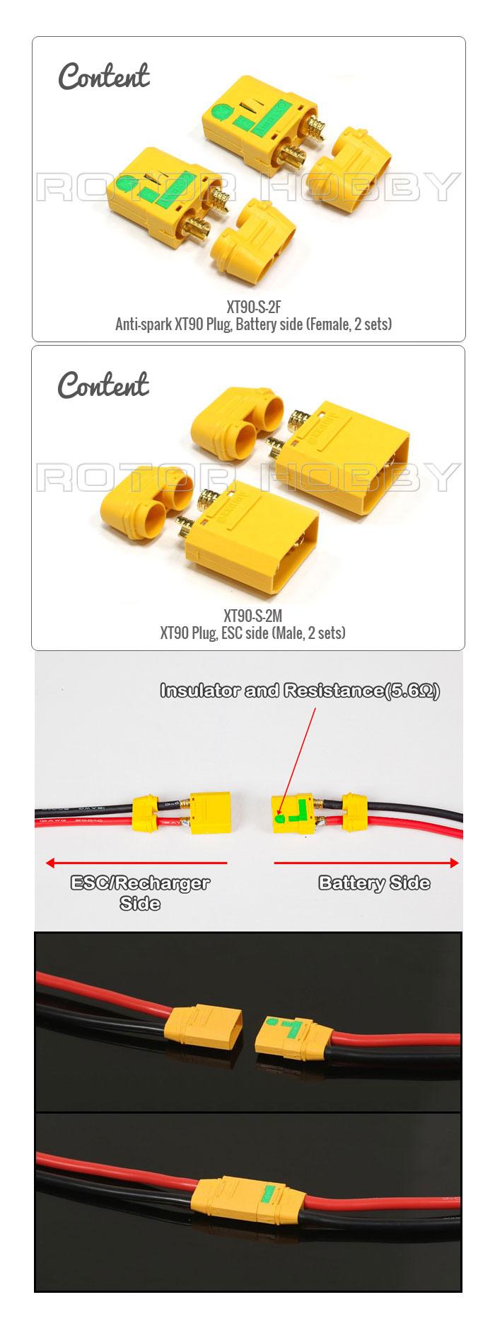 XT90 Plug / Connector